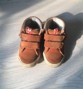 Ботиночки Zara как новые + тапочки