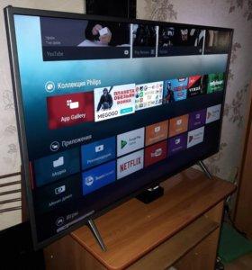 Телевизор 4К 43 дюйма