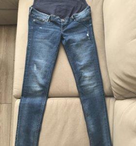 Новые джинсы для беременной hm