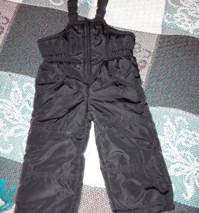 Продам утепленные штаны 86см.