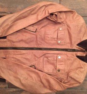 Куртка кожаная демисезонная