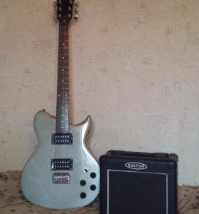 Гитара Washburn в Комплекте с Усилителем Kustom