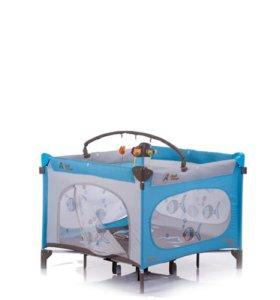 Манеж-кровать Capella Jetem Quadro R новый