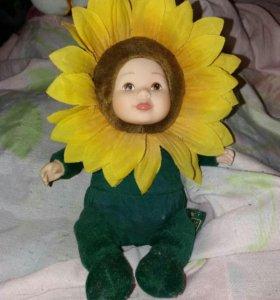 Куколка-цветочек