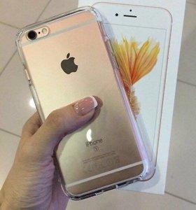 IPhone 6s 64Гб (идеальное состояние, новая батарея