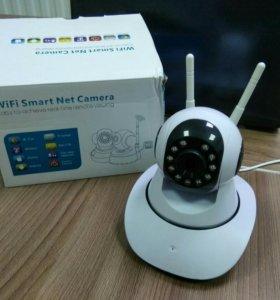 Поворотная wi-fi камера
