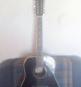 12ти струнная акустическая гитара Q.Jonhson