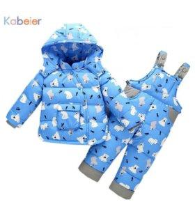 Зимний костюм детский новый