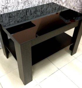 Стол «Черный глянец»