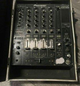 Pioneer CDJ 850 и микшер Pioneer DJM 800