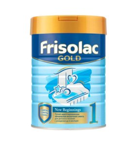 Смесь Frisolac GOLD. 2 банки.