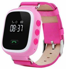 Детские GPS часы. Smart Baby Watch Q60S