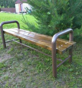 Мебель садовая (Скамейка-лавка без спинки).