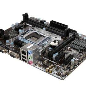 i3 6100 + msi h110 pro-d