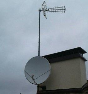 Установка антенн в Солнечногорске