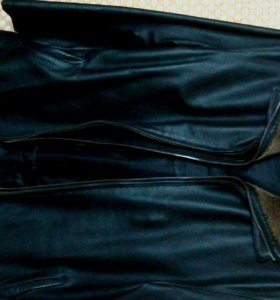 Куртка кожаная,осень-зима