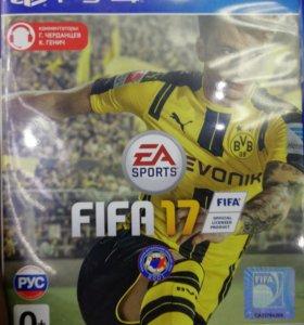 Игра Fifa 2017 PS4