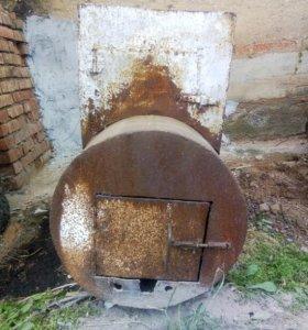 Печь для бани, теплицы, хоз.построек б/у.