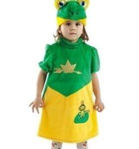 Карнавальные костюм Царевна лягушка
