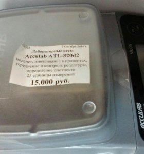 Лабораторные весы Acculab ATL-820d2