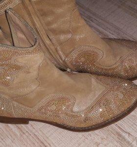 Ботинки кожа.италия