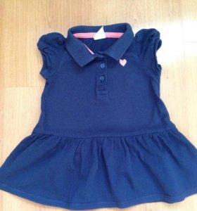Платье H&M 68 см