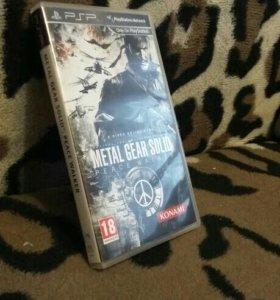 "Игра для писпи название: ""Metal Gear Solid"""