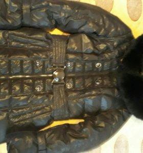 Зимнее плащ-пальто 42-46рр.