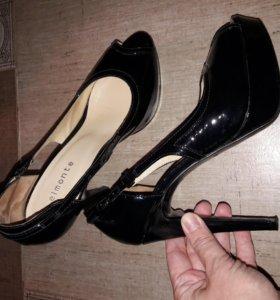 Туфли лаковые Elmonte