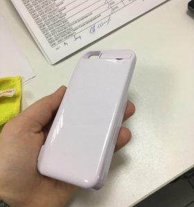 Чехол-зарядка на iPhone 5
