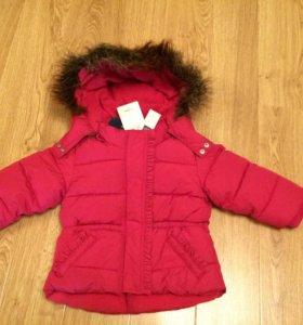Детская куртка для девочки BabyGap 18-24 мес Новая
