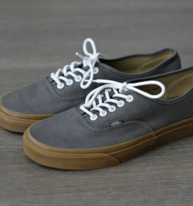 Vans Authentic grey/gum