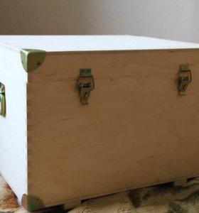 Ящик-сундук деревянный