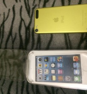 iPod touch 5 yellow 32gb