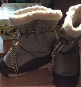 Зимние ботинки Demar размер 24-25