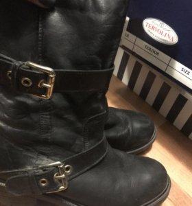 Ботинки женские кожаные , 36 размер