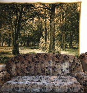 Диван и 2 кресла, КМК. Можно отдельно