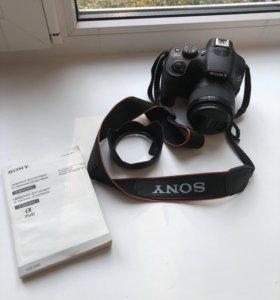 Цифровой фотоаппарат Sony alpha 3500 18-50мм