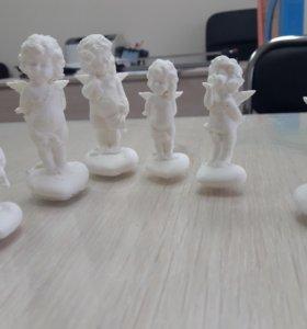 Фигурки на 3Д принтере