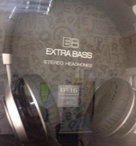 Наушники полноразмерные ExtraBass EP-16
