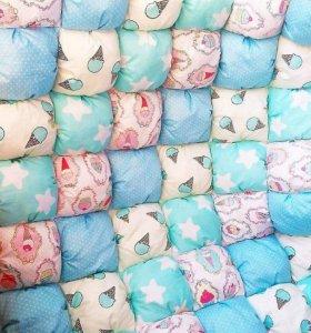 Одеяло и бортики бомбон