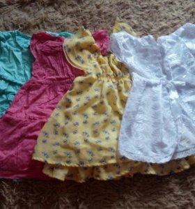 Платья на девочку 1 год
