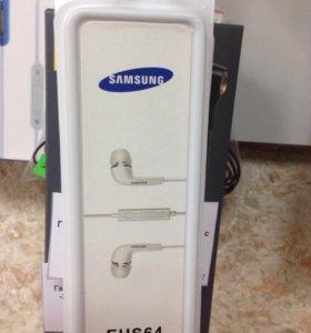 Гарнитура Samsung EHS-64 с микрофоном