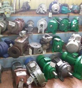 Электродвигатели редукторы мотор-редукторы насосы