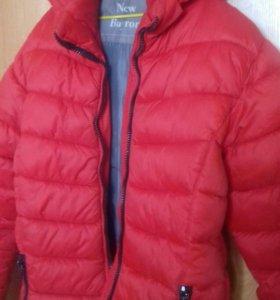 Куртка на мальчика 12-14 лет, сезон осень -весна.