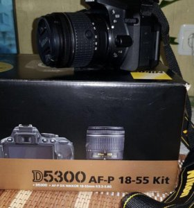 Фотоаппарат Nikon D5300 AF-P 18-55 Kit