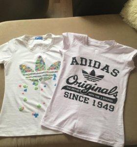Новые Адидас футболки ( оригинал)