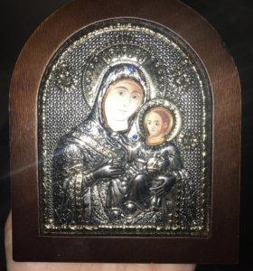 серебряная икона вифлеемская