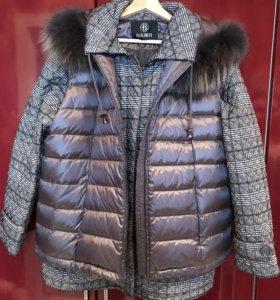 Куртка с жилетом