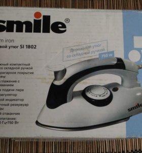 Дорожный паровой утюг Smile Si 1802